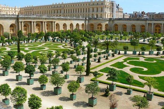 Entrada a los Jardines de Versalles...