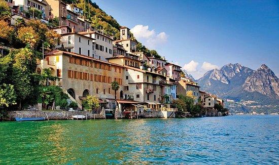 Guidet tur fra Lugano til Gandria...