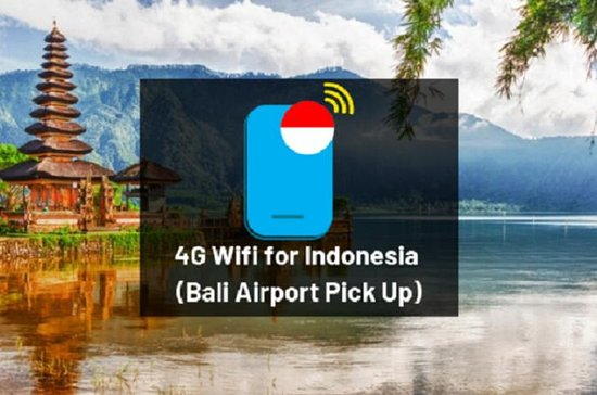 4G Wifi for Indonesia (Bali Airport...