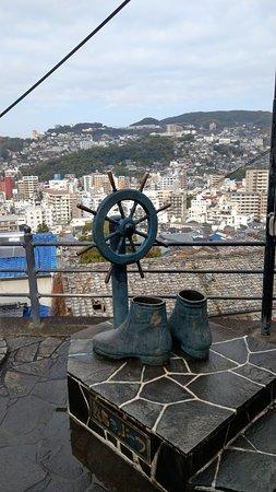 Statue of Ryoma Sakamoto's Boots: 靴子和舵
