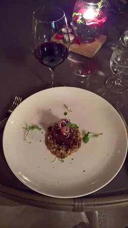 Braised Rib with Chocolate and Red Wine paired with Malbec, Viento Sur, Mendoza, Argentina 2017