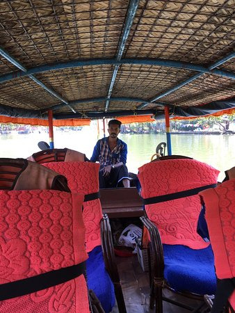 Longboat tour of the backwaters