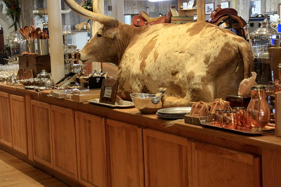 The bull in the china shop - Picture of King Ranch Saddle