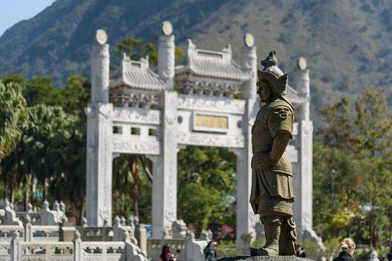 Tian Tan Buddha (Big Buddha): The area before Big Buddha
