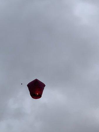 新春祈福 - 十分老街放天燈