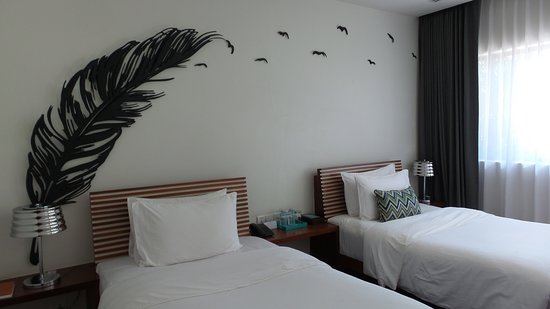 The Aviary Hotel: Comfy beds