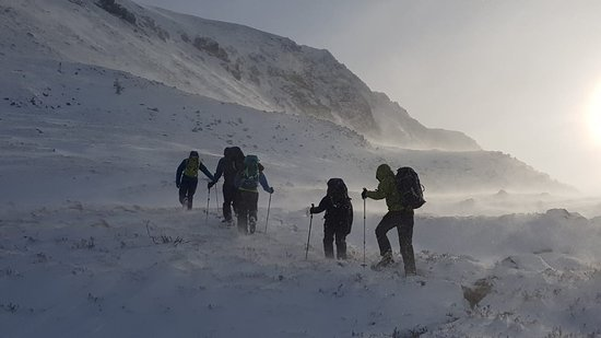 Adventure Expertise Ltd.: Top of the Lairig Ghru pass