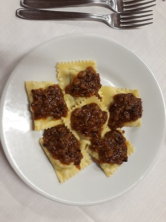 Sambuca Pistoiese, Italy: ravioli
