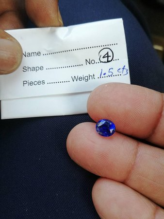 Kuruwita, Sri Lanka: Blue Sapphire for Sale by Nilantha Gems