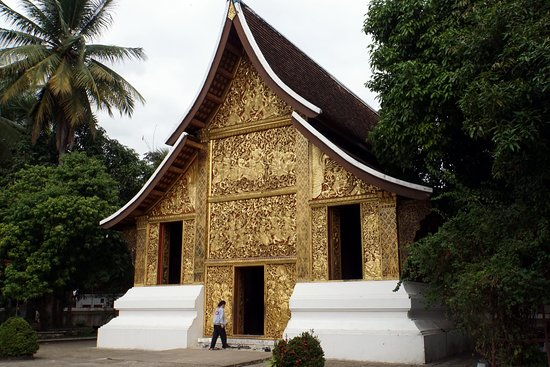 Den Gyldne By (Wat Xieng Thong): Всё в золоте