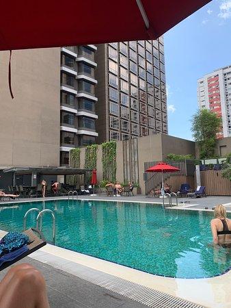 Centralt och bra hotell