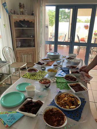 Birthday take away feast