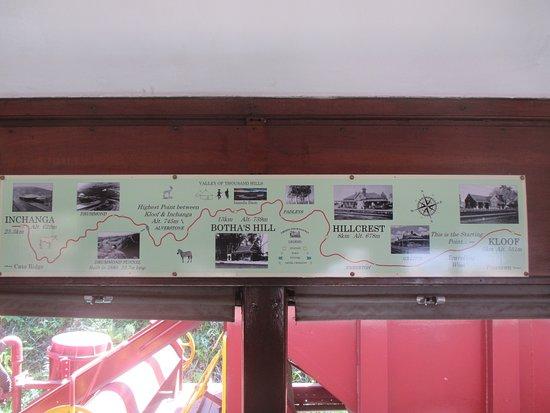 Umgeni Steam Railway: route