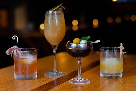 Try TJ's crafted cocktails   Captain Planet, The Basic Bro, Open Sesam, The Basic Bitch, The Golden Child and more