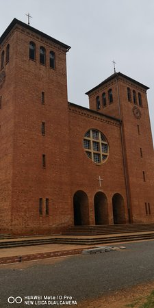 St Benedictine Church in Peramio-Songea Tanzania. Built in 1945. Must see