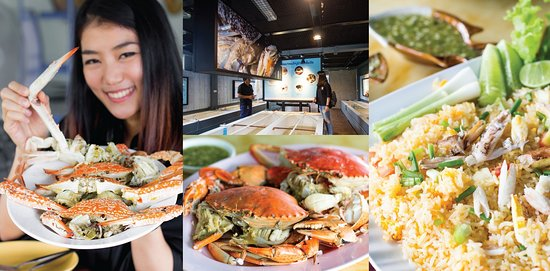 """Songkhla Province, Thailand: The Crab Bank, if you go here, you will learn about crab evolution, crab types, being of crab and also you will understand an environment thereabout. In addition, there is an activity """" Crab release """" you can do. After you're finished the activity, you will have lunch there which is a restaurant in the place """" Crab Bank Restaurant """" on the menu of this restaurant will be crab food that various. Hope you guys enjoy the trip : )"""