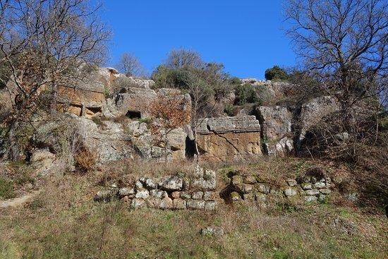 Vetralla, Italie : La Necropoli Rupestre dell'antica città di Norchia