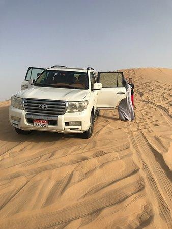 Dune Bashing, and Desert Culture