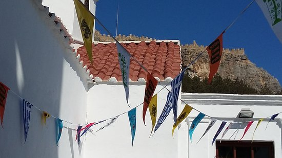 Archangelos, Greece: Архангелос, август-2016, виды...