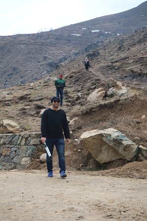 Mr. Shakoor with our group in Fakir Gujiri  mountain