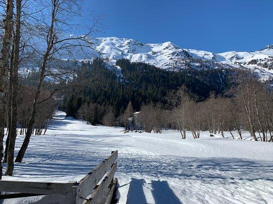 Olivone, Schweiz: l'inizio della passeggiata