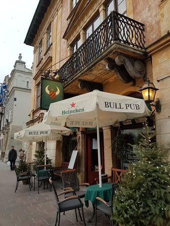Bull Pub in the Old Town