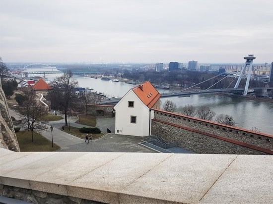 View from the Bratislava castle 1