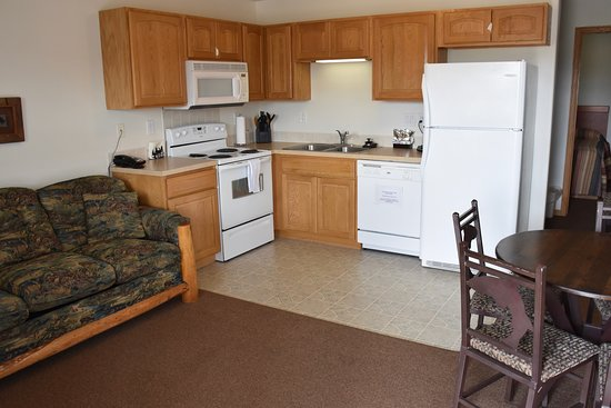 Front room of cabins