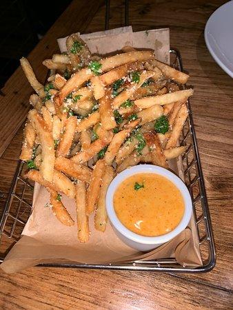 Table Boston: Truffle fries were delicious!