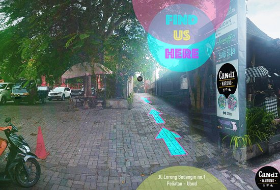 Find Us Here, The Hidden Gem! Only 20m from Main road Jl. Sukma, in the Alley (next to Pura Dalem Puri). Or Google Map us : https://goo.gl/maps/7GZSoU4XmY52 For Delivery Call/WA : +62 821-4656-3830