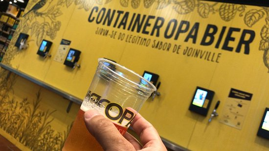 Opa Bier: container