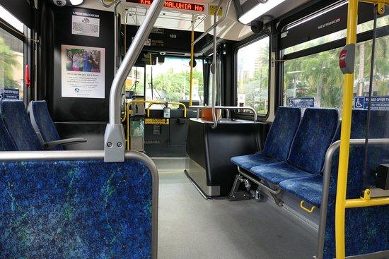 Inside Of A Bus Picture Of The Bus Honolulu Tripadvisor