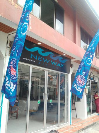 New Way Diving Beach Shop
