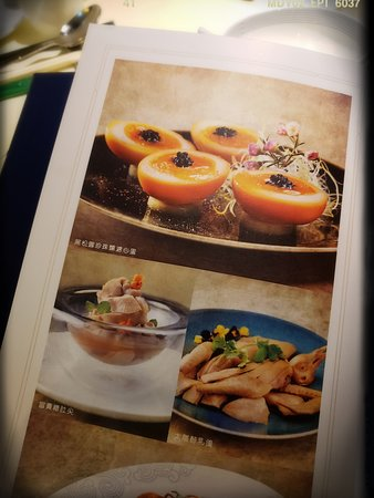 餐牌上招牌菜式大多附有彩圖