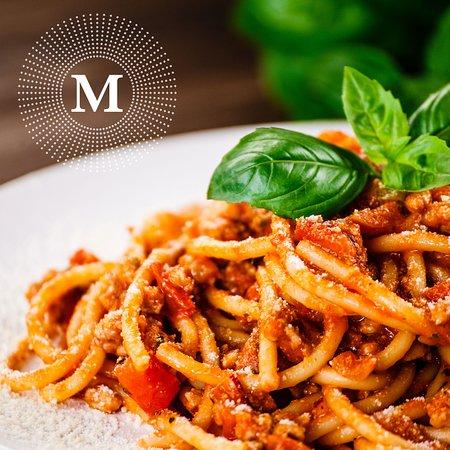 M Cafe & Bar: Spaghetti Bolognese