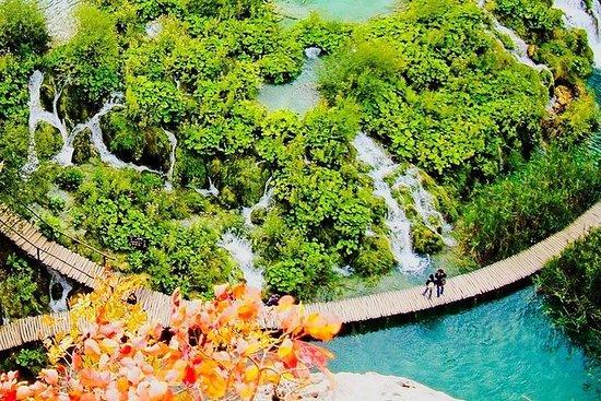 Plitvicer Seen und Rastoke Dorf...