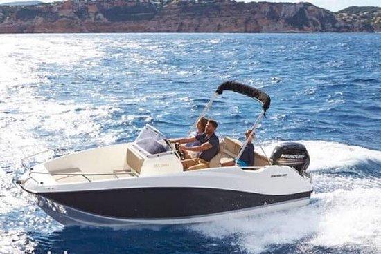Boka Bay by speed boat...