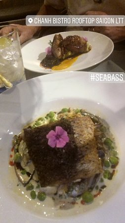 sea bass and other dish
