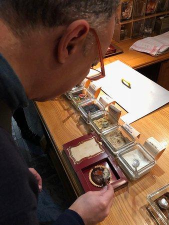 Chocolate Museum: Il masterchef del cioccolato al lavoro