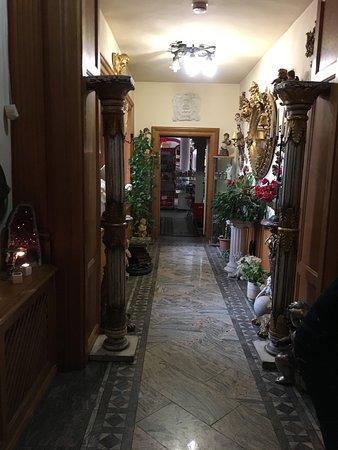 Chocolate Museum: Uno dei corridoi del Museo