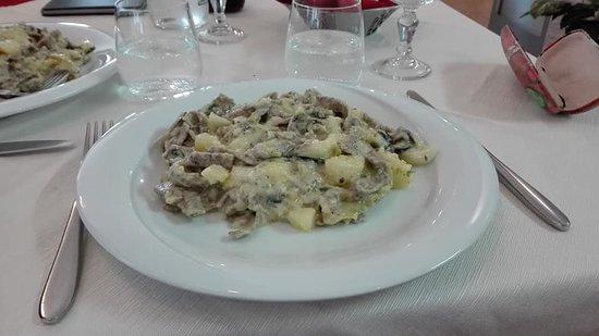 Lasnigo, Italia: Pizzoccheri