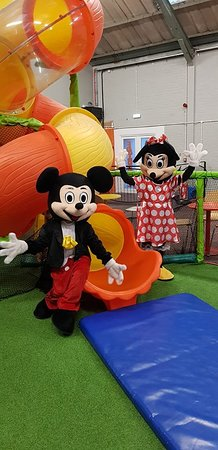 Pembroke Dock, UK: Appearance from MIckey and Minnie Mouse