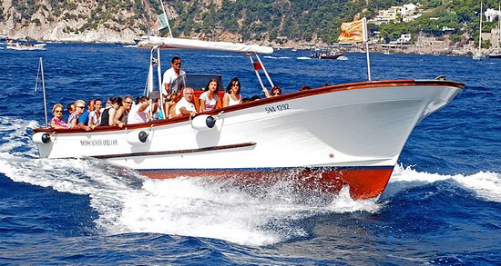 Complete boat tour around the island is included in both our tours