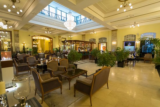 The bar area - Picture of Hotel Metropol Moscow - Tripadvisor