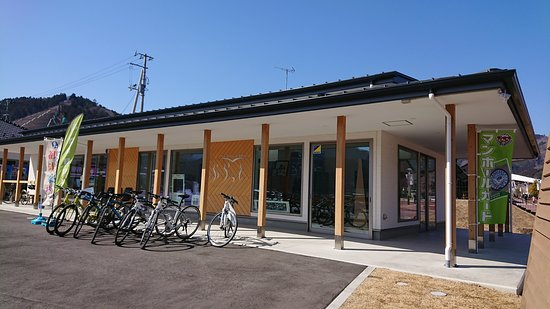 Onagawa-cho, Japan: 女川町たびの情報館ぷらっとの外観