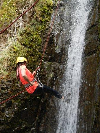 Yo Bajando la cascada