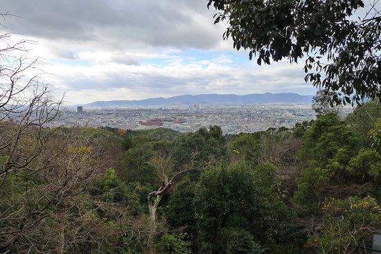 Fushimi Inari (view towards Kyoto)