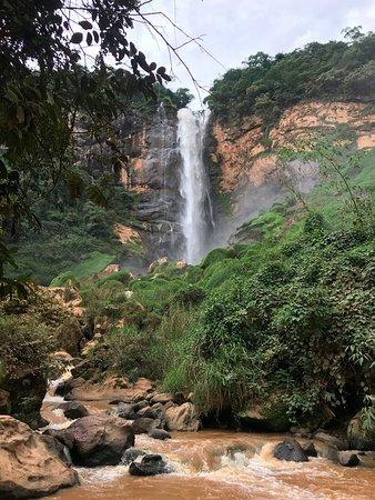 Sumidouro, RJ: Banho possível, mas água barrenta.