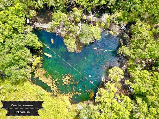 Cenote Corazón del Paraíso