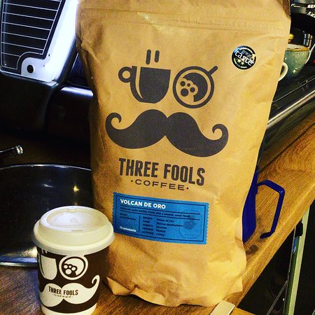 Our coffee is Three fulls coffee